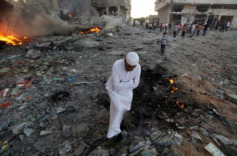 Gaza-Decenas-palestinos-Hamas-AP