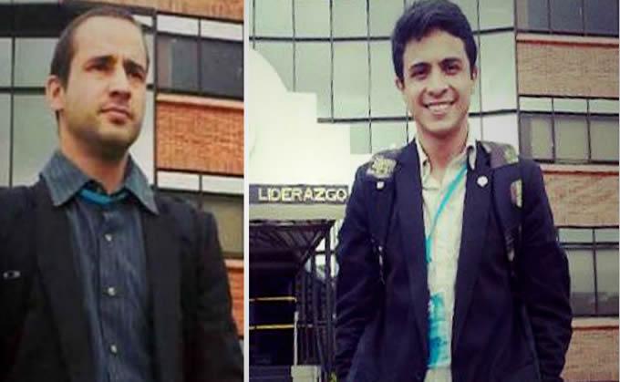 Gabriel Valles Sguerzi y Lorent Saleh fueron expulsado de Colombia.