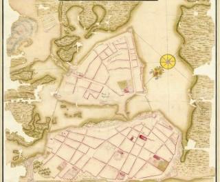 Cartagena de Indias. Plano de Juan de Herrera y Sotomayor, 1730. Servicio Geográfico del Ejército, Madrid.