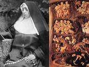 Beata Sor María Serafina Micheli y Lutero en el infierno