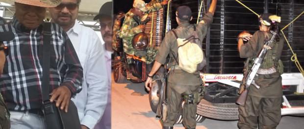 FARC EP en la Guajira Proseletismo