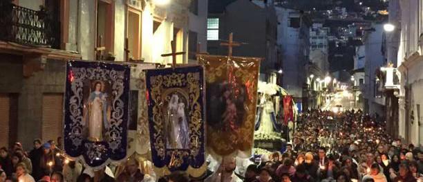 La procesión de la Virgen del Buen Suceso