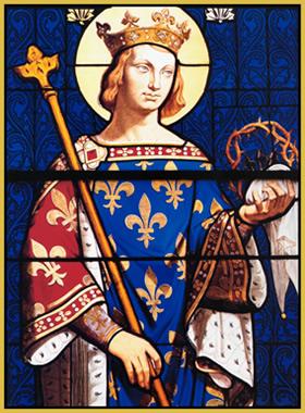 Rey San Luis de Francia