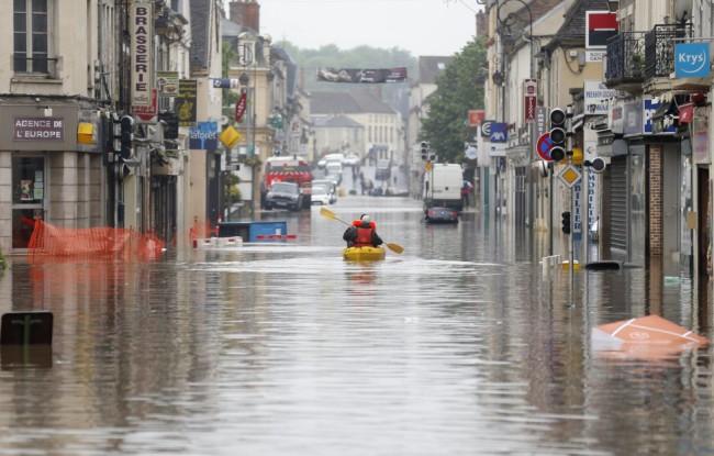 Inundaciones Alemania y Francia