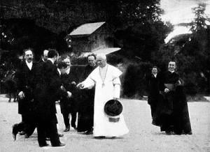 San Pio X, jardines del vaticano