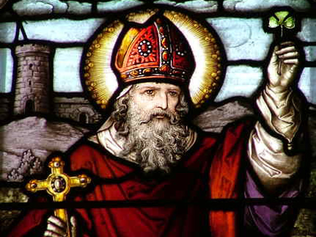 San Patricio y el trébol