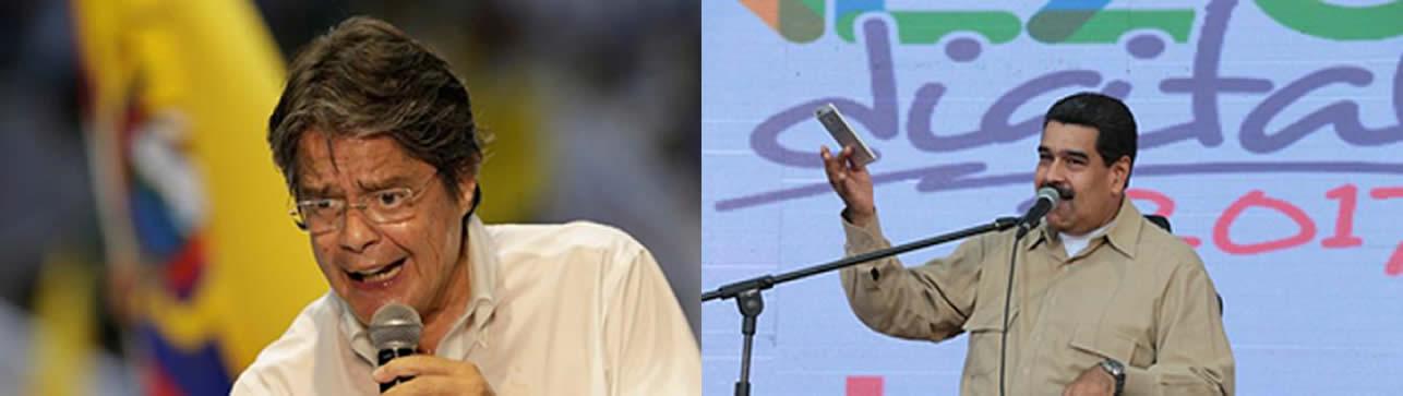 Laso vs Maduro