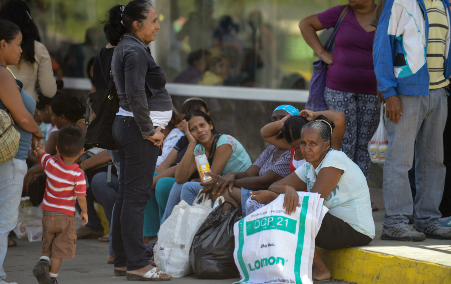 Venezuela Escasez -Desabastecimiento - Caos Social