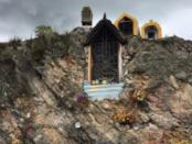 Desconocidos profanan y queman imagen de la Virgen del Carmen en Boyacá