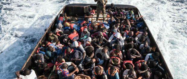 Inmigrantes a Italia