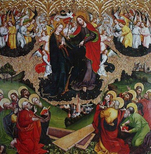 Asunción de Nuestra Señora, Johannes Wielki, Master of the Olkusz Poliptych (1466-1497)