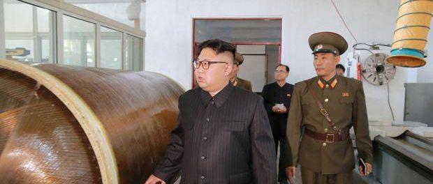 Corea del Norte - Misiles a mar de Japón