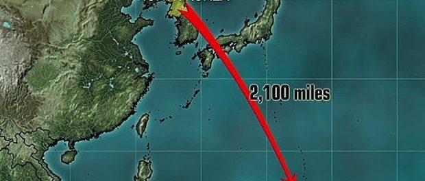 Guam y Corea del Norte