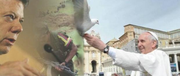 Santos - Farc - Papa Francisco - Proceso de Paz Colombia