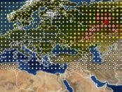 Nube radioactiva en Europa