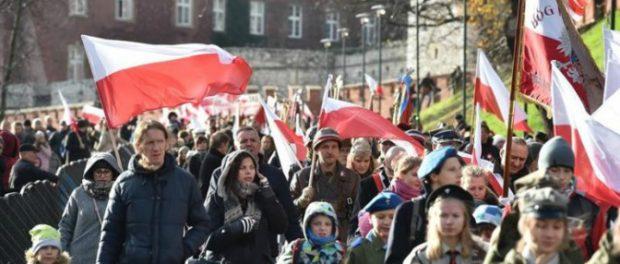 Polonia Manifestación