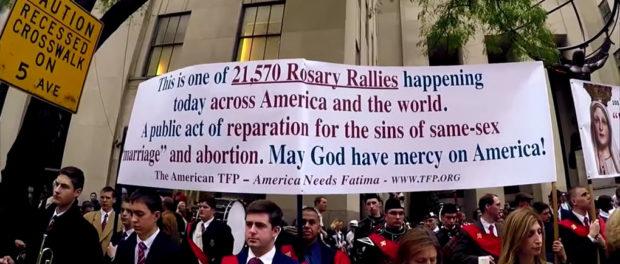Más de 21000 Rosarios en toda América