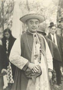 Monseñor Builes en correrías misioneras