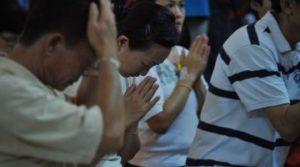 Católicos en China